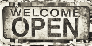 WELCOME OPEN