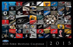 2015 Ford Mustang Calender